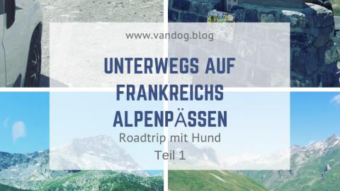 Col-Cruising  – Roadtrip mit Hund auf Frankreichs Alpenpässen – Teil 1