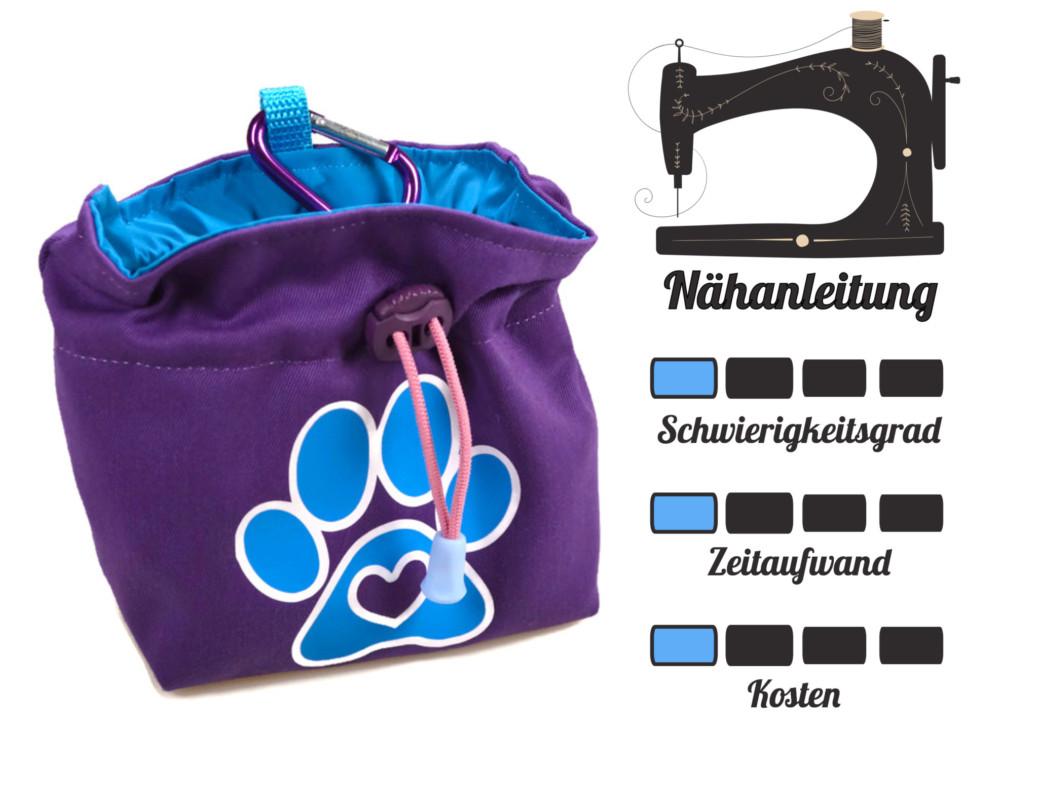 DIY Futterbeutel Nähanleitung
