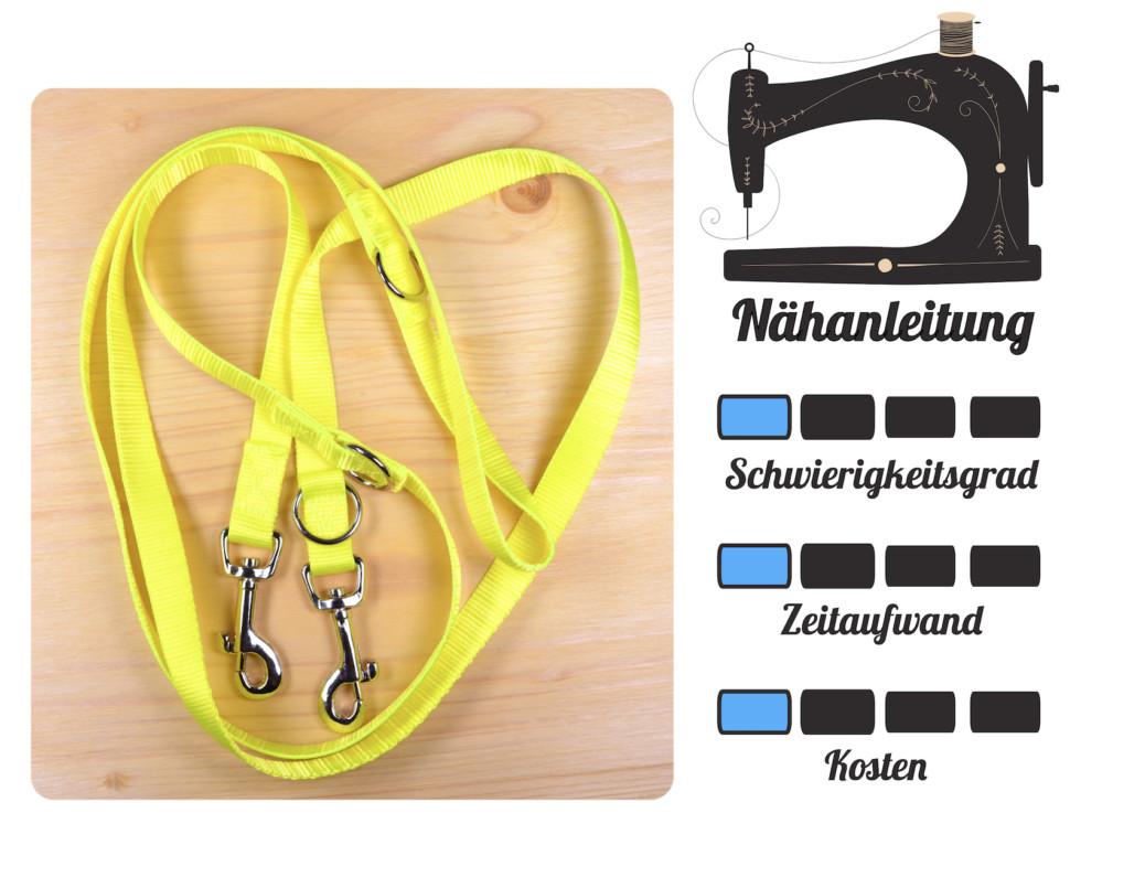 DIY für Hunde - Leine Nähanleitung