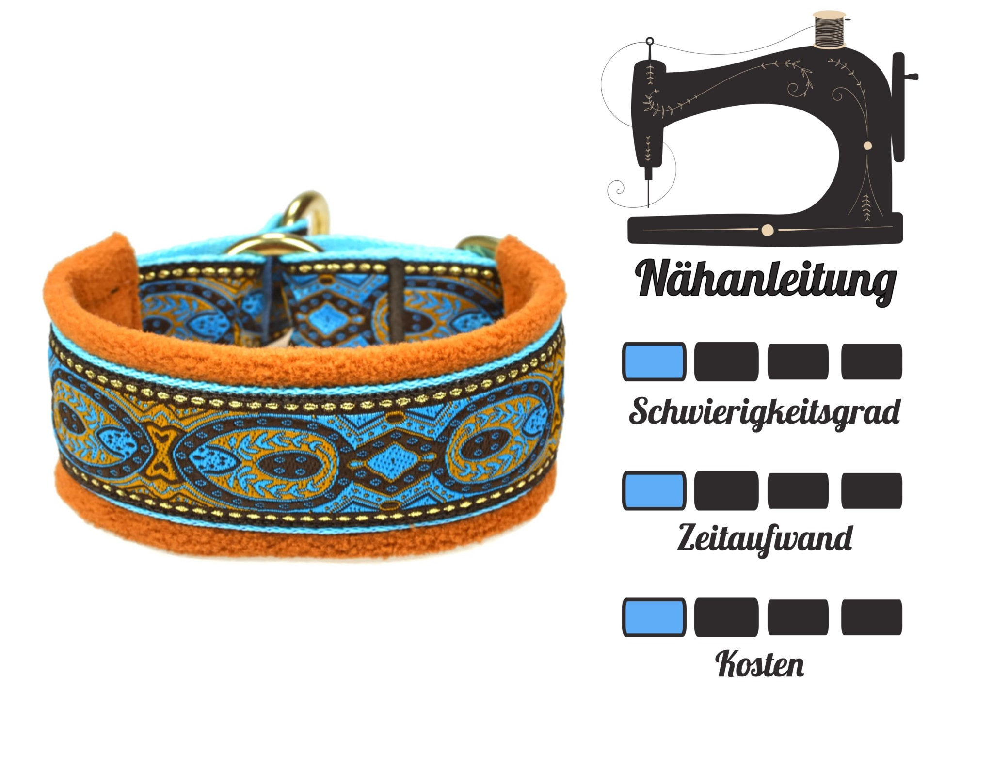 DIY für Hunde - Halsband Zugstopp Nähanleitung