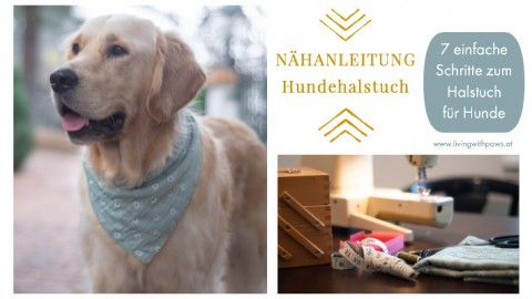 DIY – Halstuch für Hunde