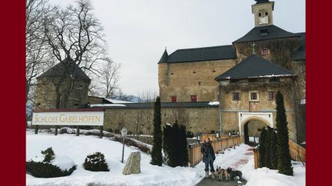 Hundereise ins Schloss Gabelhofen
