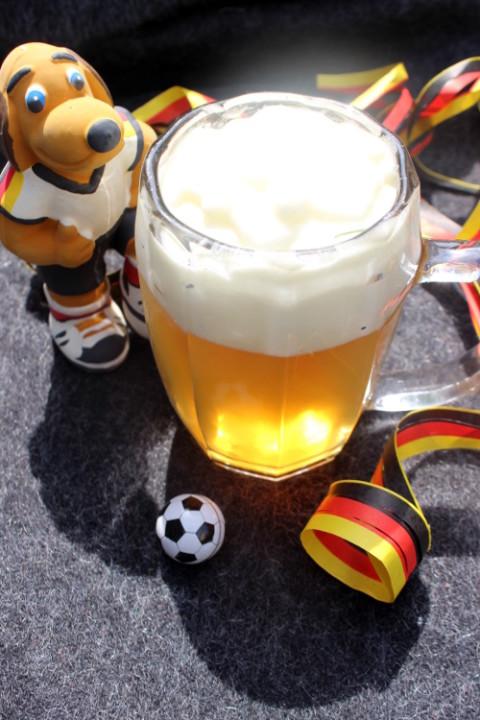 Hundebier zum Deutschlandspiel