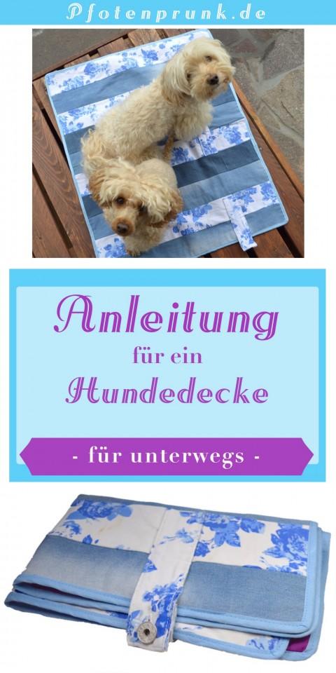 Anleitung für eine Hundedecke (zum Mitnehmen)