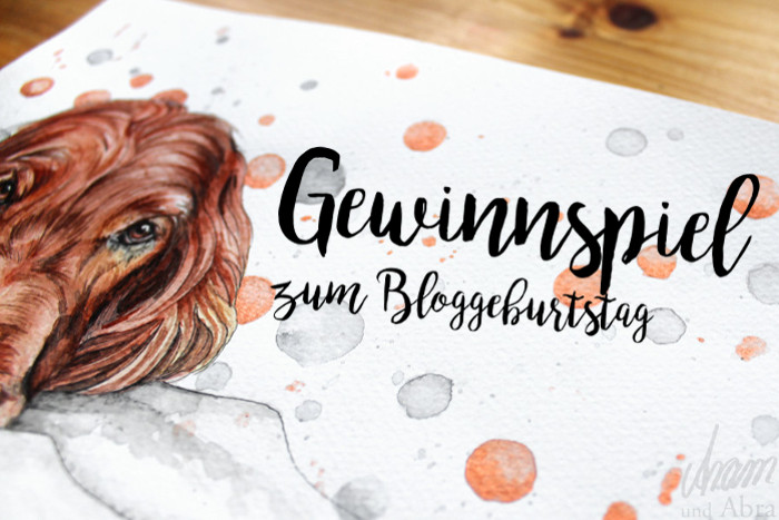 Hundeportrait Auftragszeichnung Aquarell Hundeblog