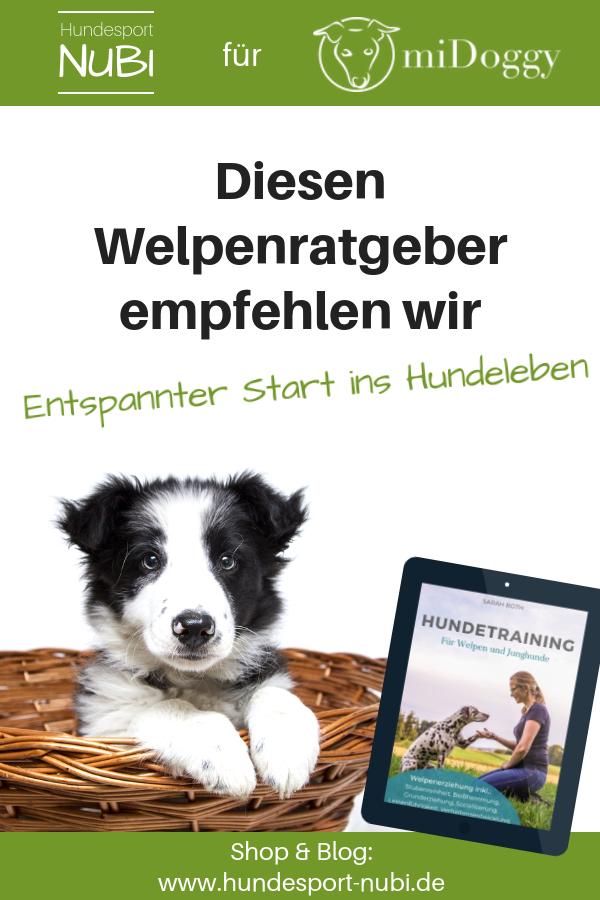 Hundetraining für Welpen und Junghunde, Buch Rezension - Hundeblog Hundesport Nubi