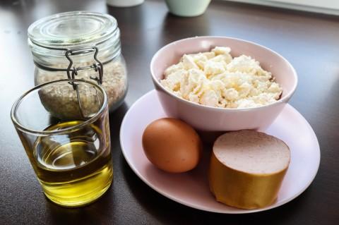 Leberwurst Käse Leckerli