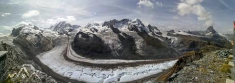 Wanderung mit dem Hund vom Gornergrat über den Swiss Top Walk zur Riffelalp