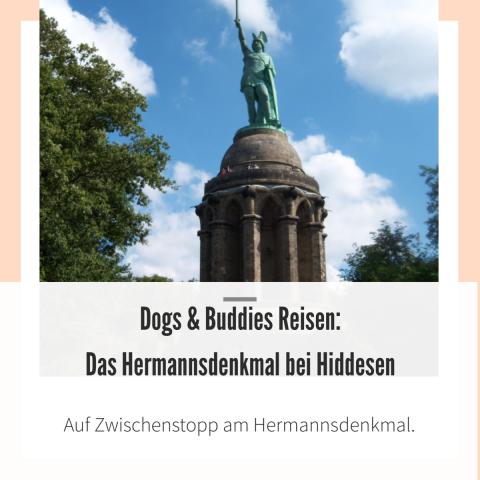 Das Hermannsdenkmal beim Teutoburger Wald