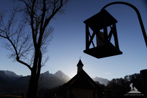 Wunderschöne Adventswanderung mit Hund in Berchtesgaden