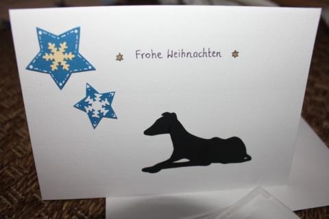 Weihnachtskarte an… oder danke an die Physiotherapie