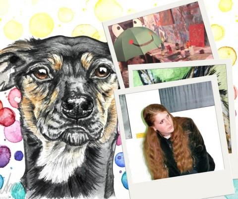 Berufung statt Vernunft? Selbstständig mit Kunst und Hund