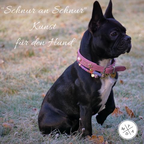 Schnur an Schnur – Kunst für den Hund