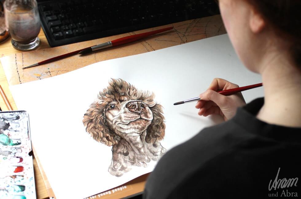 Kunst und Hund als Berufung (2)