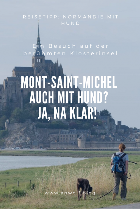 Mont-Saint-Michel auch mit Hund? Ja, na klar!