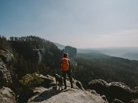 Wandern mit Hund in der Sächsischen Schweiz