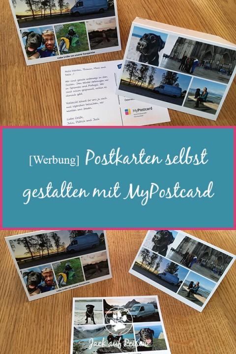 [Werbung] Postkarten selbst gestalten mit MyPostcard