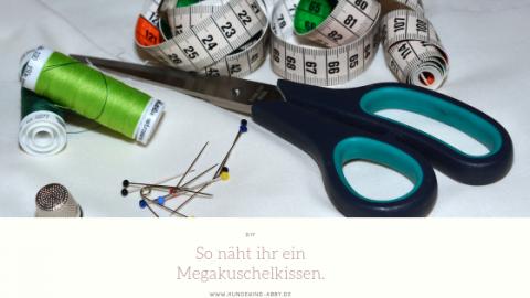 DIY – MEGAKUSCHELKISSEN FÜR HUNDE