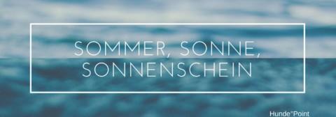 Sommer, Sonne, Sonnenschein