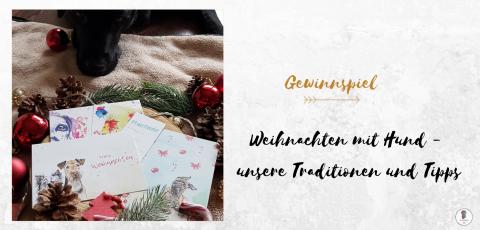 Weihnachten mit Hund (Gewinnspiel) | Anzeige