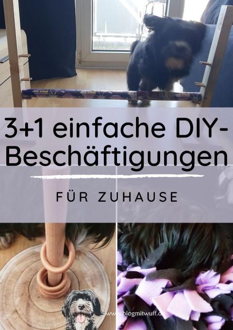 3+1 einfache DIY-Beschäftigungen für zu Hause