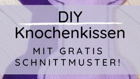 DIY Knochenkissen mit Schnittmuster