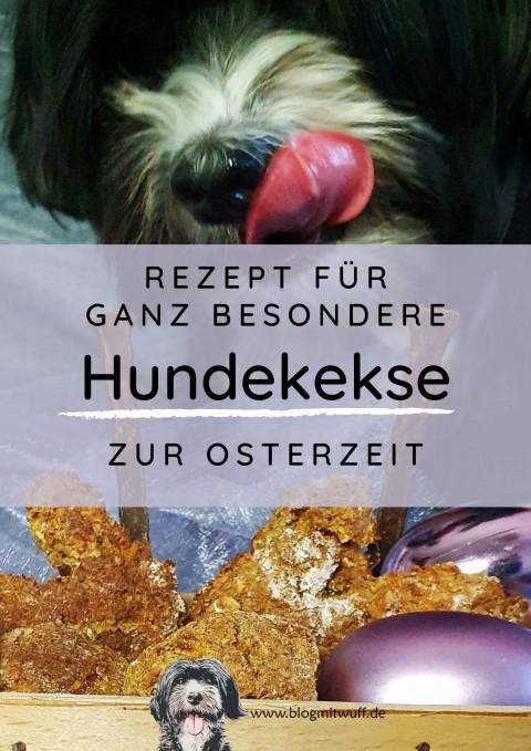 Ganz besondere Hundekekse zur Osterzeit