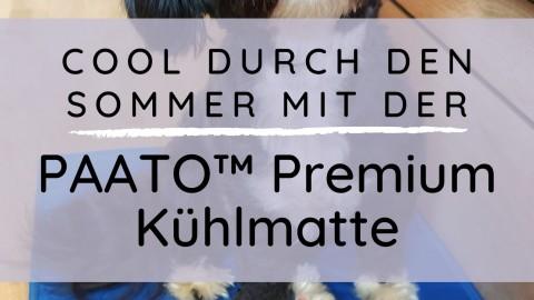 Cool durch den Sommer mit der Paato Premium Kühlmatte