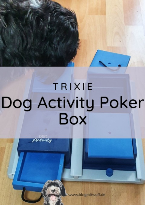 Werbung | Trixie Dog Activity Poker Box