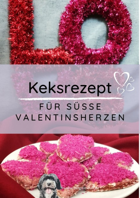 Rezept für süße Valentinsherzen