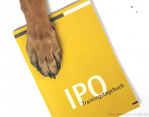 [Werbung] Training mit Plan – Hundesport Trainingstagebuch