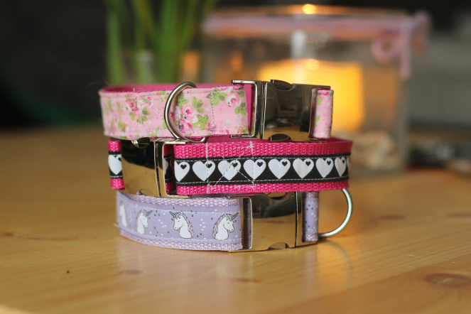 DIY Halsbänder selbernähen Borte