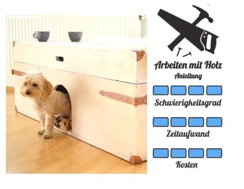 Hundehütte & Sideboard 2in1 Selberbauen