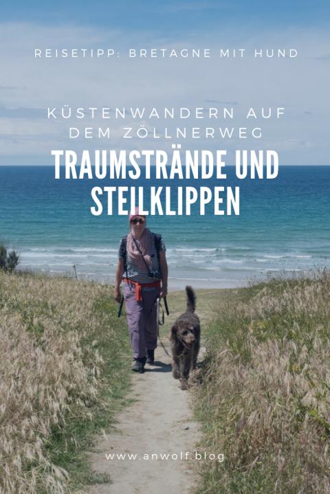 Reisetipp mit Hund: Küstenwandern in der Bretagne