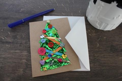 Weihnachtskarte an… oder danke an den örtlichen Tierladen