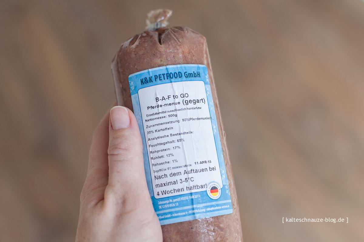 BAF to Go – Pferde-Menü - K&K Petfood