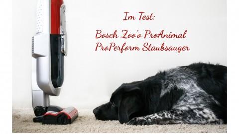 Im Test: Bosch Zoo'o ProAnimal ProPerform Staubsauger // Werbung
