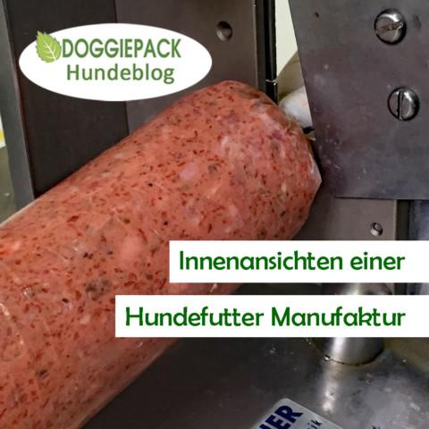 Innenansichten einer Hundefutter Manufaktur