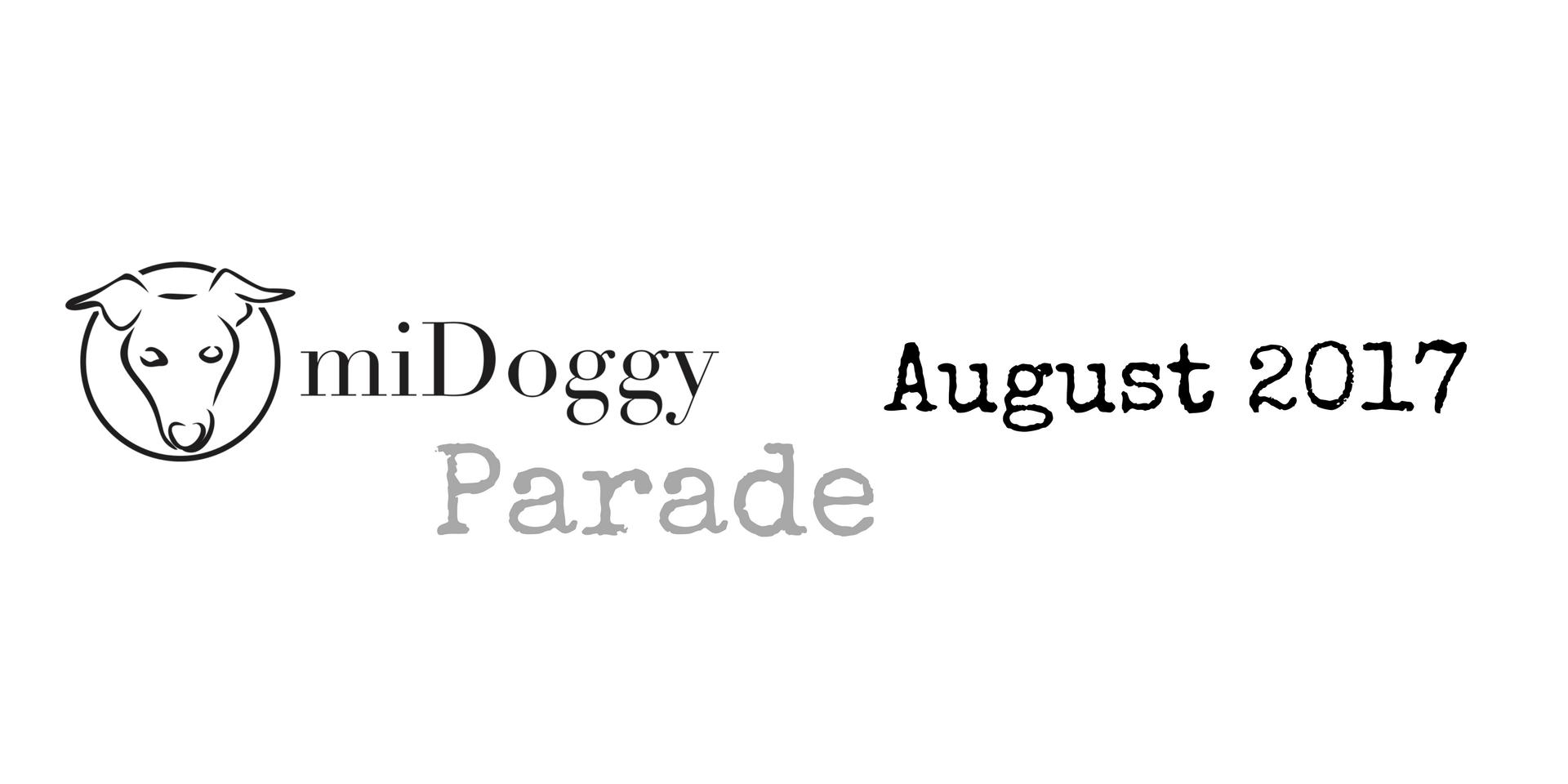 miDoggy Parade Blogparade Hundeblogger August 2017