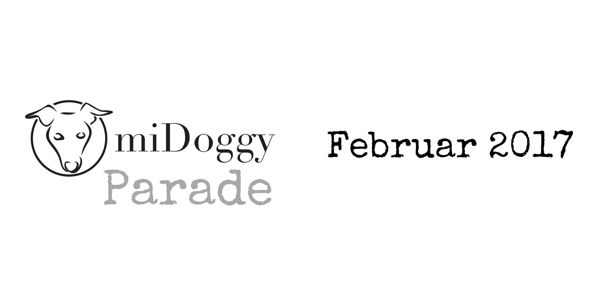 miDoggy Parade Blogparade Hundeblogger Februar 2017
