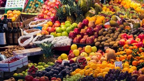 Obst und Gemüse für den Hund