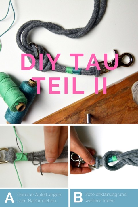 DIY -Tau der Leinen & Halsbandtrend Teil II