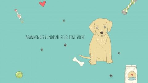 Spannendes Hundespielzeug: Eine Suche