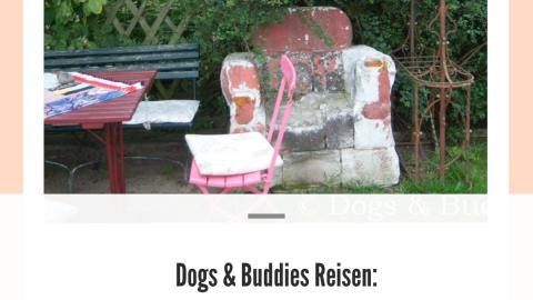 Dogs & Buddies Reisen: Galerie-Garten-Café in Lütow auf Usedom